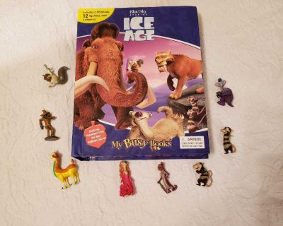 Ice age busy book