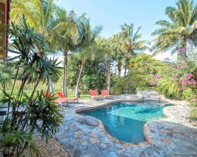 Lovely Beach Home on Nature Preserve*Steps to Beach*Private Pool*Grill*Free WiFi - Birch Park Finger Streets