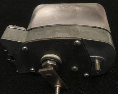 Converted 6v to 12v single speed wiper motor