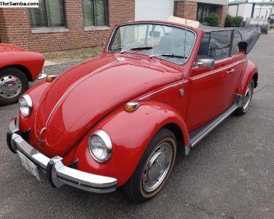 1969 Beetle Convertible