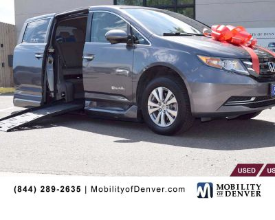 Pre-Owned 2015 Honda Odyssey EX-L Braunability Power Fold-Out Side entry