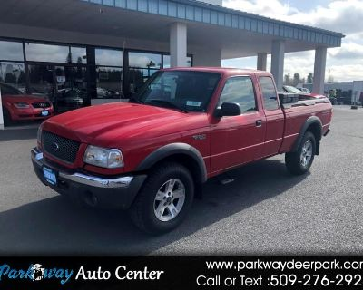 Used 2002 Ford Ranger 4dr Supercab 3.0L XLT Off/Rd 4WD