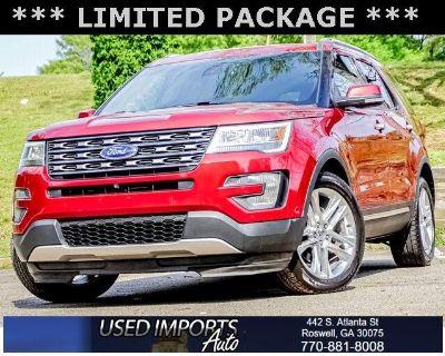 2016 Ford Explorer FWD 4dr Limited