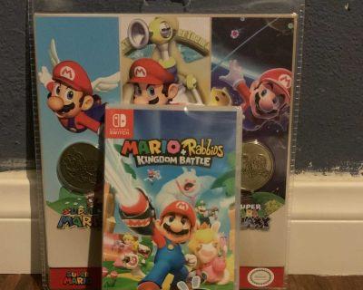Mario + Rabbids Kingdom Battle (FREE Mario Collectible Coin Set)