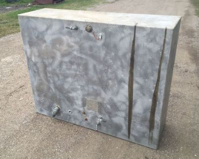 220 Gallon Aluminum Marine Fuel Tank 60 X 48 X 18 Call For Shipping Quote
