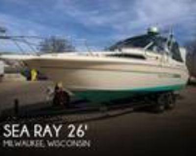 27 foot Sea Ray 270 Sundancer