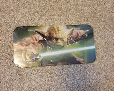 Yoda license plate - new, never used