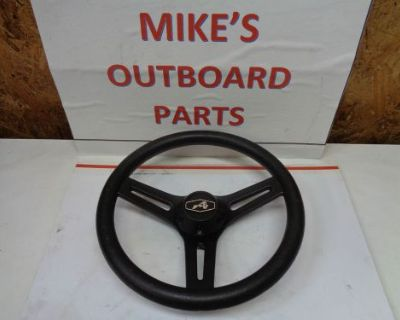 "New 3 Spoke Steering Wheel ""c"" 13 Diam. 3.75"" Deep@@check This Out@@@"