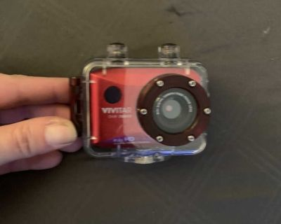 Action camera/camcorder with waterproof case