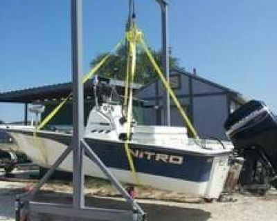 complete 3 ton gantry crane system adjustable height  with geared trolley