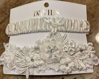 David s Bridal Wedding Garters - BRAND NEW