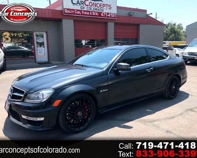 Used 2012 Mercedes-Benz C-Class C63 AMG COUPE EDITION 1