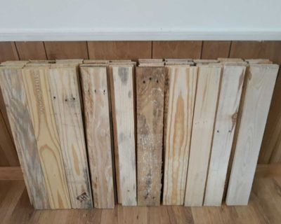50 Pieces 24 Inch Pallet Wood Boards
