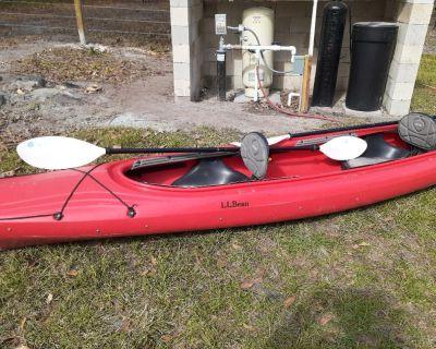 L.L.Bean 15 ft. tandem kayak