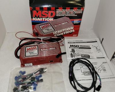 New MSD 6al 6420 Ignition Controller