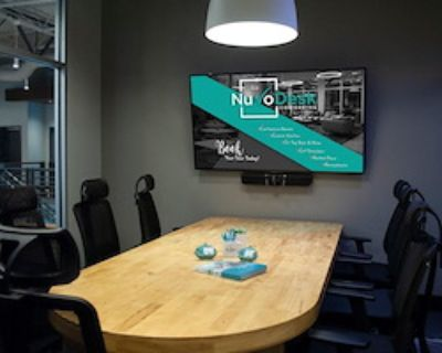 Private Meeting Room for 3 at NuvoDesk Coworking