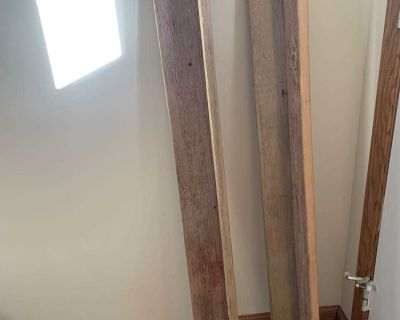 2 Barn Wood Shelves