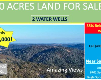 20 Acres for Sale in Shingle Springs, CA