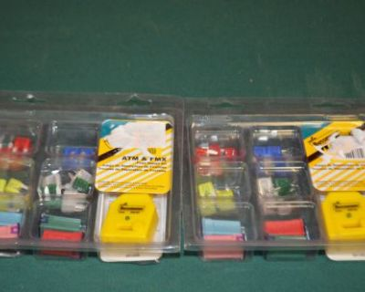 Lot Of 2 Cooper Bussmann Atm-fmx-ek 30pc Emergency Fuse Kit