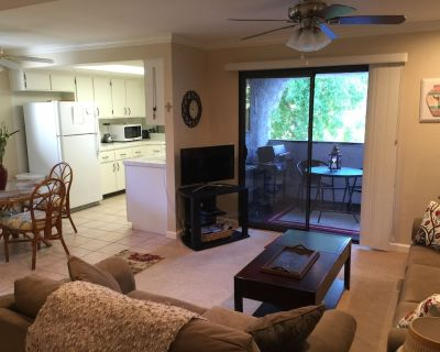 Furnished Condo Resort Amenities - (4) Pools and Spas, Tennis Courts - Palm Springs