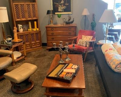 Mid Century Modern Sale, relocated to Trousdale Drive