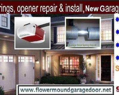 Flower Mound #1 New Garage Door Installation Company | 972-402-5550