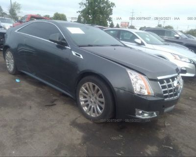 Salvage Gray 2014 Cadillac Cts Coupe