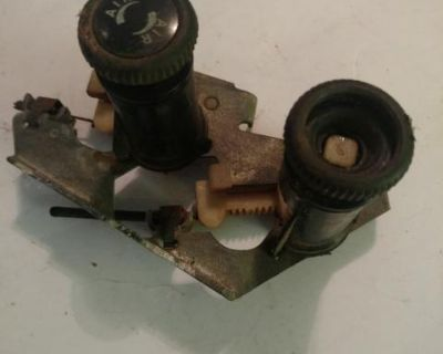 Fresh air control knob assembly