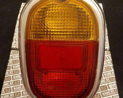 Tail light units with Hella orange / red lenses