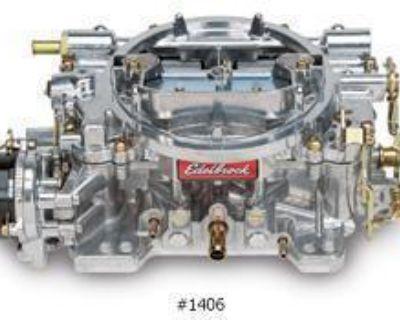 Edelbrock 1406 4-bbl 600 Cfm Carb Performer E-choke New