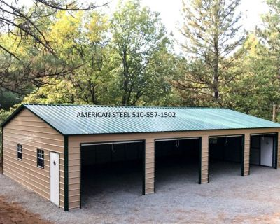 American Steel Metal RV, Boat, Car Ports, Garages, Shops, Ag structure