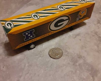 Packers toy semi trailer
