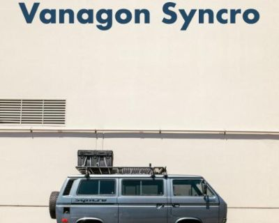 1987 VW Vanagon Syncro