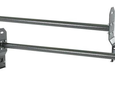 (qty 2) Universal Van Gutter Mounted Roof Cross Bars-steel Ladder Rack Rbhd-3967