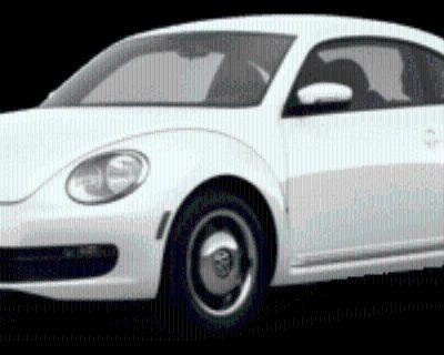 2013 Volkswagen Beetle Turbo Coupe Manual