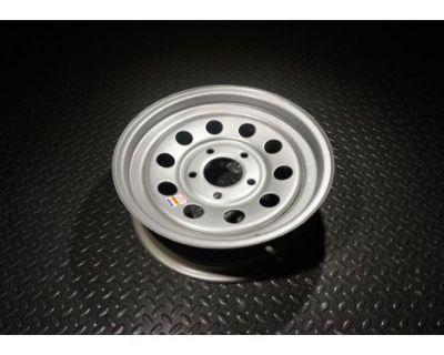 15 Trailer Wheel - Silver Mod - 5x4.5