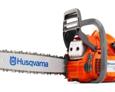 Husqvarna Power Equipment 450 Rancher 20 in. bar CraftBx Chain Saws Elma, NY