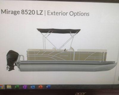 2021 Sylvan 8520 Mirage LZ Pontoon Boats Hutchinson, MN