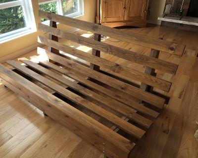 Wooden Futon Bedframe
