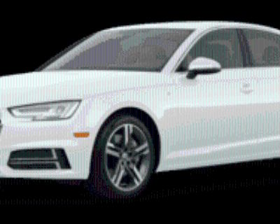 2018 Audi A4 ultra Premium Plus