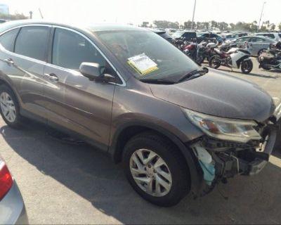 Salvage Brown 2015 Honda Cr-v