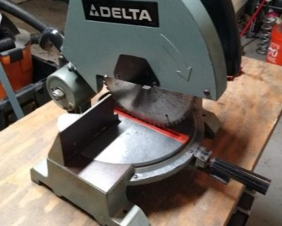 FS/FT Delta Miter Saw - the Delta-saur - a real man's saw!