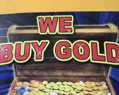 I buy gold broken missing stones rings necklaces bracelets whatever you have also silver