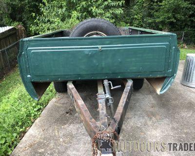 FS 72 GMC 8 truck bed trailer