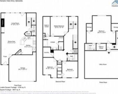 1125 Hampton Oaks Dr, Alpharetta, GA 30004 4 Bedroom Apartment