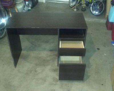 Computer Desk with two drawerfs