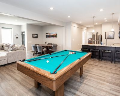 The Fly-by Suite//mountain & Lake View+hot Tub+mini Golf+pool Table+garage! - Monument