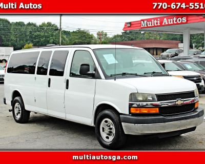 Used 2012 Chevrolet Express LT 3500 Extended