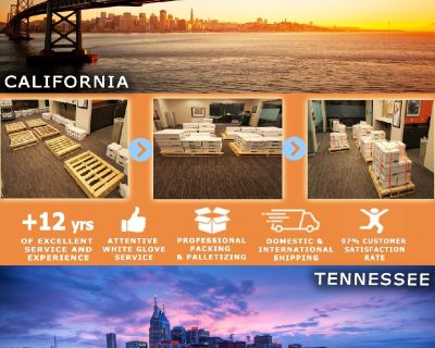 Packing Service, Inc. Shipping Services and Palletizing Boxes - Los Angeles, California
