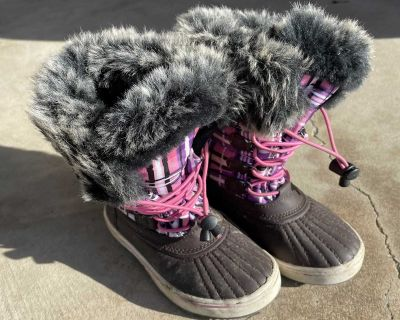 Girls Snow Winter Boots Size 11